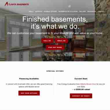 Website Design, Dev & SEO for http://atlbasementsllc.com/