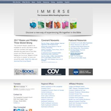 Website Design, Development, Migration, Hosting & Technical Support for http://www.covchurch.org/